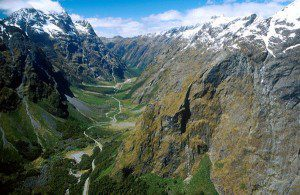 Aerial view of Milford road