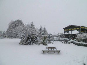 Winter at Te Anau TOP 10 Holiday Park